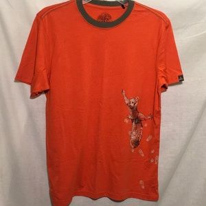 PRANA Squirrel Men's M Women's L Ringer T-Shirt